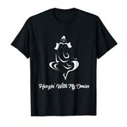 Funny Yoga T-shirt Ganesh Elephant Hangin' With My Omies
