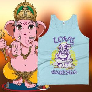 Ganesh Tank-Tops