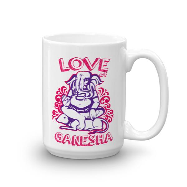 LOVE GANESHA - CHAI / COFFEE MUG