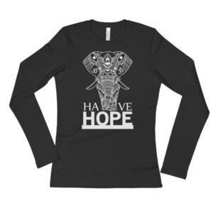 Have Hope - Ladies' Long Sleeve T-Shirt