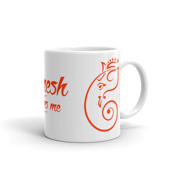 GANESHA LOVES ME CHAI / COFFEE Mug
