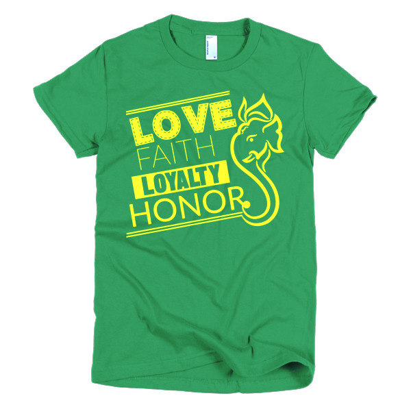 Loyalty - Short sleeve women's t-shirt