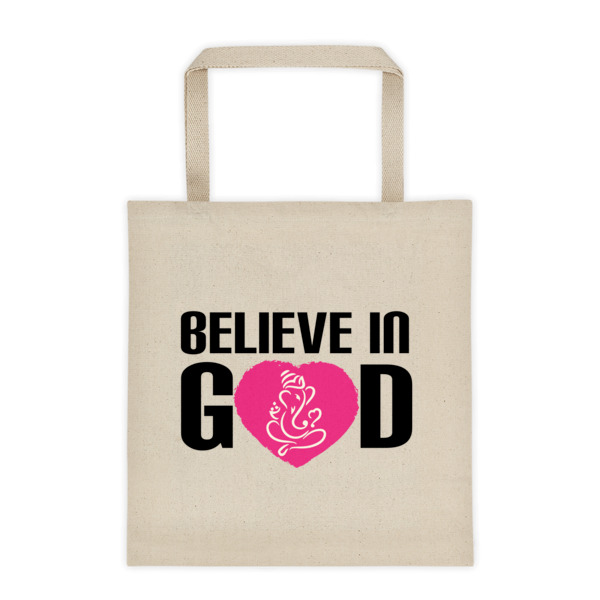 Believe In GOD - Tote bag