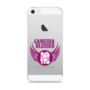 Blessed by Ganesha - iPhone 5/5s/Se, 6/6s, 6/6s Plus Case