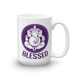GANESH - PURPLE BLESSED CHAI / COFFEE MUG