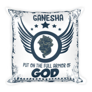 Ganesha the GOD - Square Pillow