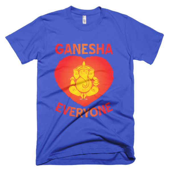 GANESHA HEART EVERYONE Short sleeve men's t-shirt