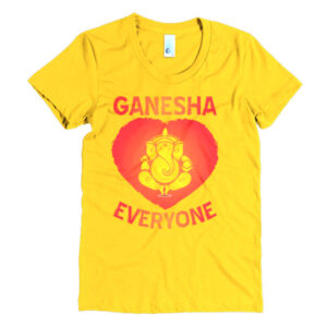 GANESH HEART EVERYONE Women's short sleeve t-shirt