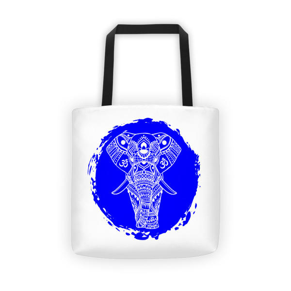 BLUE GANESHA Tote bag