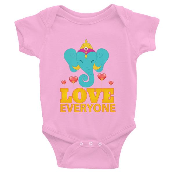 GANESH LOVES EVERYONE HEARTS Infant Bodysuit