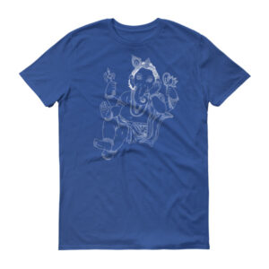 GANESHA SITTING Short sleeve t-shirt