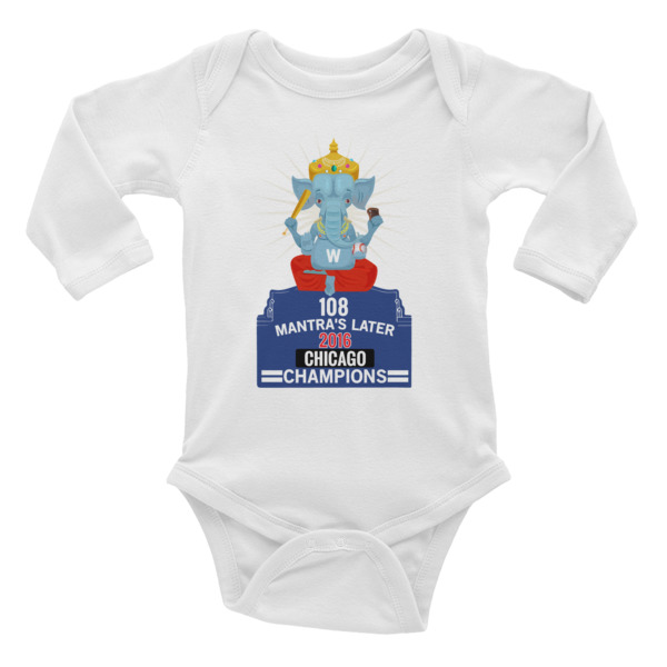 GANESH - CHICAGO CHAMPIONS 2016 Infant Long Sleeve Bodysuit