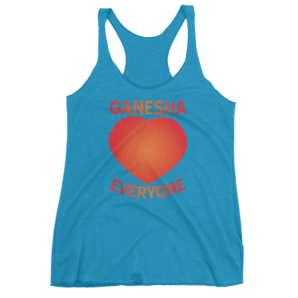 GANESH LOVES EVERYONE Women's tank top