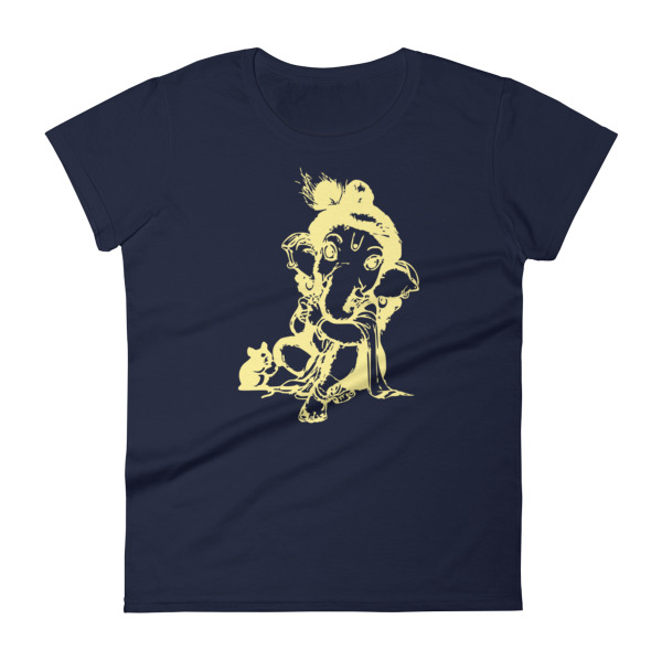 GANESHA BABY Women's short sleeve t-shirt