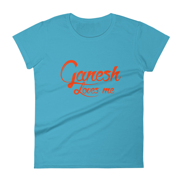 GANESH LOVES ME Women's short sleeve t-shirt