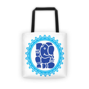 BLUE GANESH Tote bag