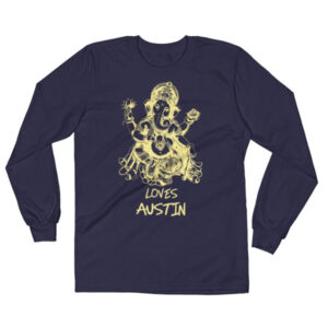 GANESH LOVES AUSTIN  Long Sleeve T-Shirt