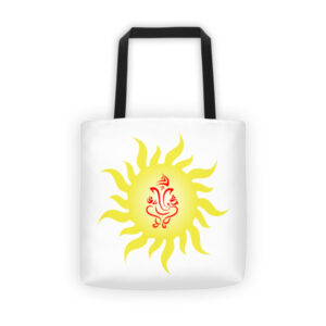 YELLOW GANESH Tote bag