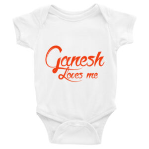 GANESH LOVE ME Infant short sleeve one-piece