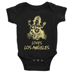 GANESH LOVE LOS ANGELES Infant short sleeve one-piece