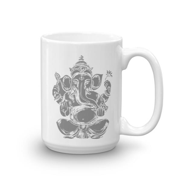 Ganesha Greyscale Mug