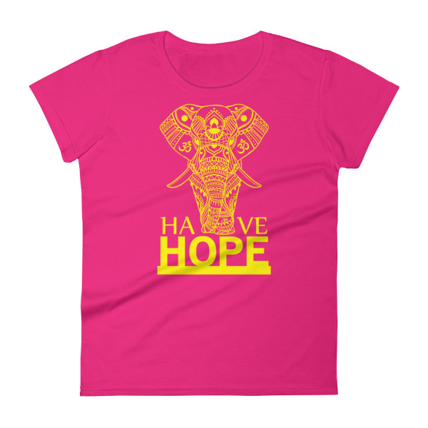 HAVE HOPE Women's short sleeve t-shirt