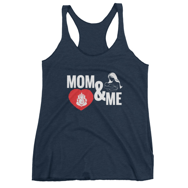 MOM AND ME GANESH Women's tank top