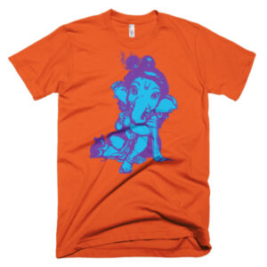 GANESHA BABY Short sleeve men's t-shirt