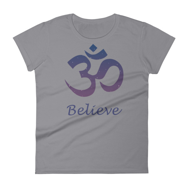 OM BELIVE Women's short sleeve t-shirt