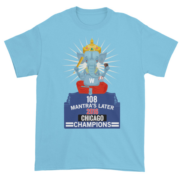 108 GANESH CHICAGO CHAMPIONS PATEL Short sleeve t-shirt