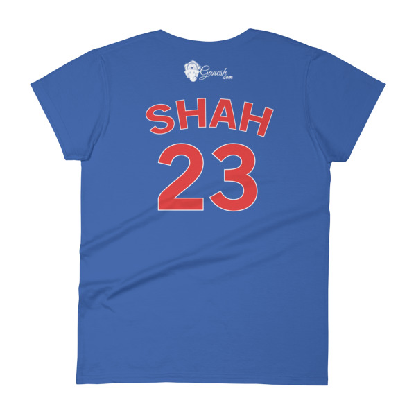 GANESH 108 MANTRA CHICAGO CHAMPIONS - SHAH Women's short sleeve t-shirt
