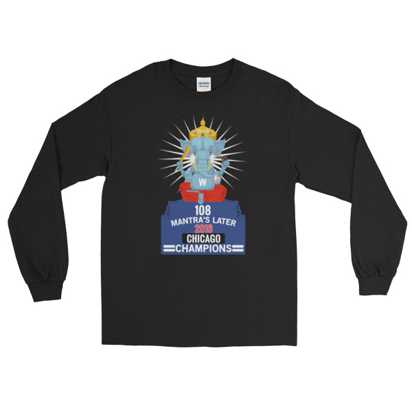 108 GANESH CHICAGO CHAMPIONS - GUPTA Long Sleeve T-Shirt