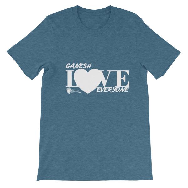 Ganesh Loves Everyone Unisex short sleeve t-shirt