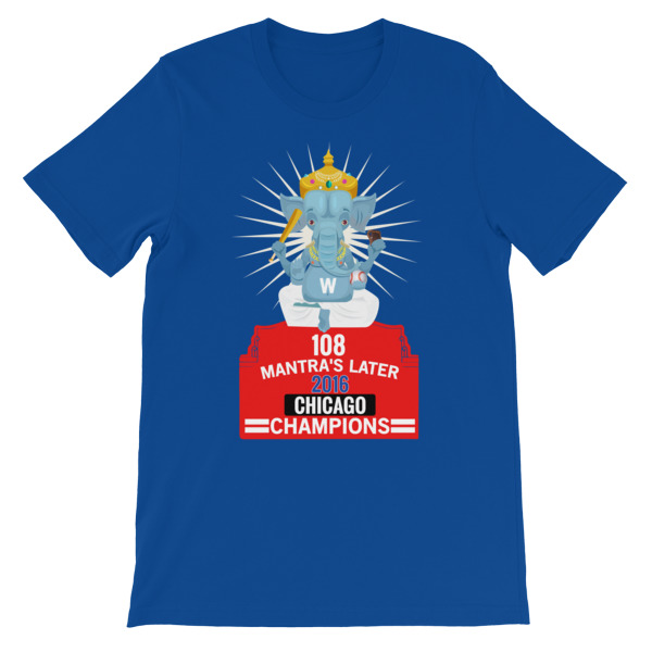 108 Chicago Champions Aggarwal Unisex short sleeve t-shirt