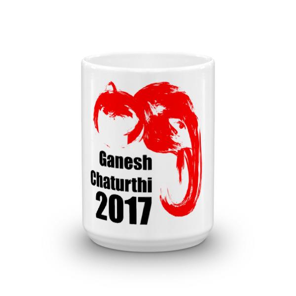 Ganesh Chaturthi Red Mug