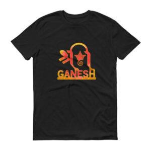 Shri Ganesh Short sleeve t-shirt – dark