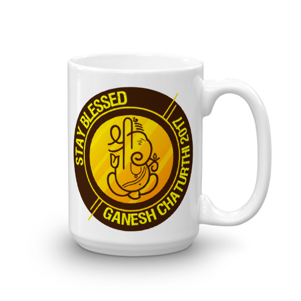 Ganesh Stay Blessed Mug