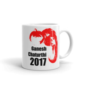 Ganesh Chaturthi Red Mug