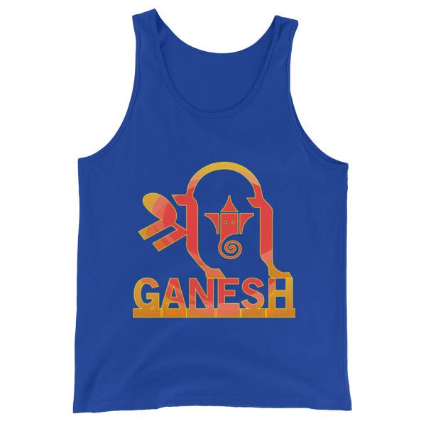 Ganesh Unisex Tank Top